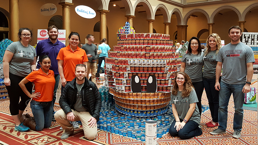 CANstruction DC 2016 Group Photo